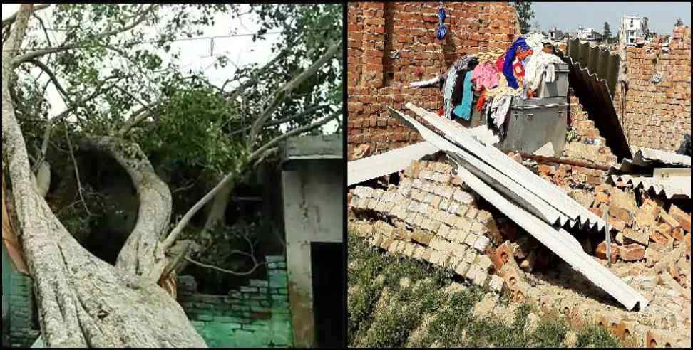 Image: Five died as storm hit uttarakhand