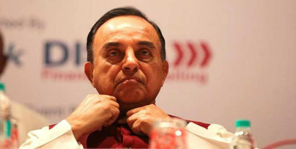 Image: Subramanian swamy against chardham shrine board act