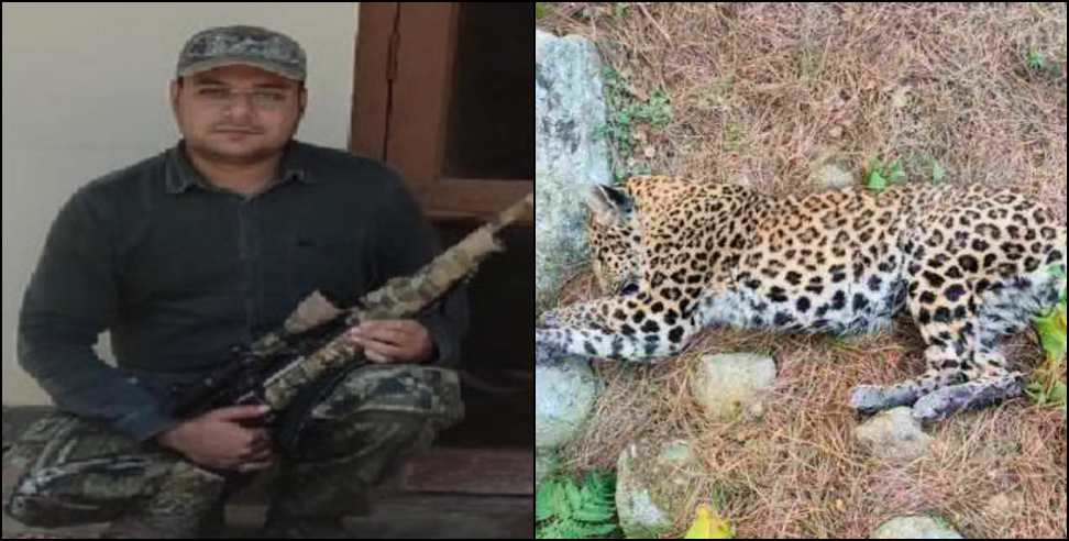 Image: Man eater leopard haunted in pithoragarh