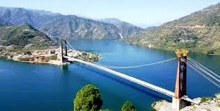 tehrigarhwal news : Load testing in dobra chanti bridge