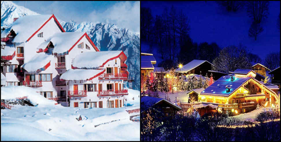 Image: auli ready for Christmas celebration