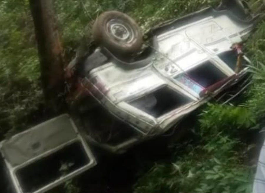 max accident in chamoli ghat