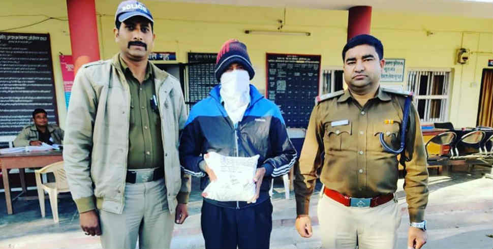 Ex army serviceman arrested in fraud - Pithoragarh, Ex army serviceman arrested, fraud, nainital, crime news, क्राइम न्यूज, पिथौरागढ़, सेना भर्ती, आर्मी रिक्रूटमेंट, uttarakhand, uttarakhand news, latest news from uttarakhand