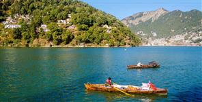 Depth of nainital lake reduced due to waste and debris