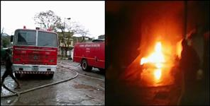 Gas cylinders blast in bread factory dehradun