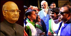 national: NIEEPVD STUDENTS PRAISED BY PM MODI AND PRESIDENT RAMNATH KOVIND