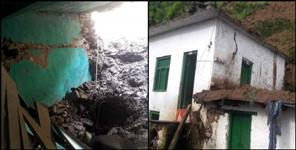 almora: almora house collapsed several feared trapped