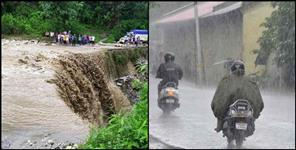 Heavy rains expected in 8 districts of Uttarakhand