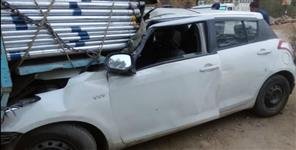 Almora car hadsa news one died