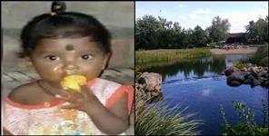 One year old child drown in pond and died