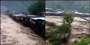kedarnath yatra abrupts due to heavy rain