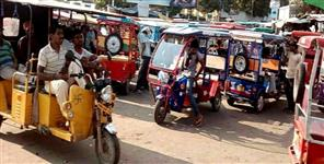 e-rickshaw become problem in Dehradun