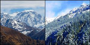 pithoragarh: weather and snowfall report uttarakhand