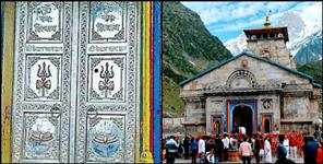 rudraprayag: Devotee from Punjab give silver doors to kedarnath dham