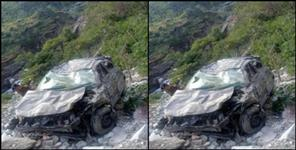 Car fell into ditch in hanol, women killed