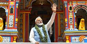 PM modi in badarinath