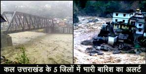 uttarkashi: weather forecast uttarakhand five districts