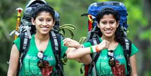 Tashi And Nungshi Depart For Eco Challenge 2019 With Man Vs Wild Show Host Bear Grylls