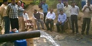 Water supply for pulla village started