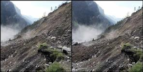 latest-uttarakhand-news: landslide heavy rainfall in chamoli