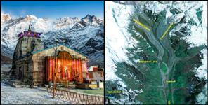 national: KEDARNATH SATALITE IMAGE APDA