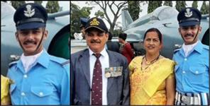 Sachin became flying officer in air force