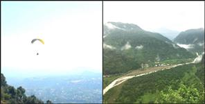 dehradun: paragliding and adventure sports adventures begin in dehradun