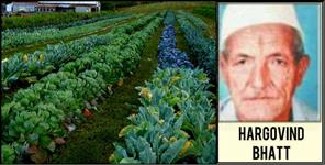 Hargovind bhatt made agriculture the basis of progress at pithoragarh