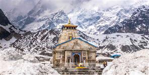 PILIGRIMS IN KEDARNATH MAKING RECOED