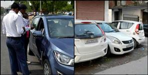 Police station full with seized vehicle in Dehradun