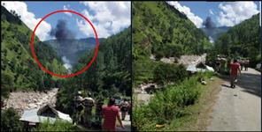 national: helicopter fall down in uttarkashi UPDATE