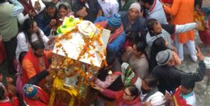 latest uttarakhand news: kedarnath doli in guptakashi