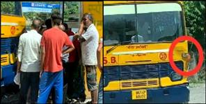 latest uttarakhand news: RISHIKESH SCHOOL BUS