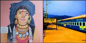 Kotdwara youths gives a new makeover to Kotdwara railway station