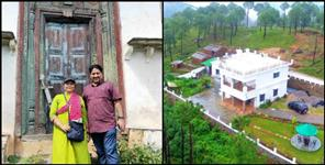 BL Madhwal built a homestay in the village
