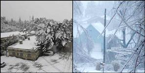 Villagers difficulties increased due to ice storm in high altitude areas