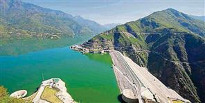Water level reached beyond 827 rl meter in tehri lake