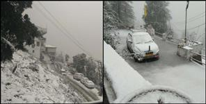 Uttarakhand snowfall in eight district