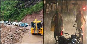 Fears of heavy rains in two districts of Uttarakhand