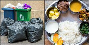 Municipal corporation is offering food to people in exchange of garbage