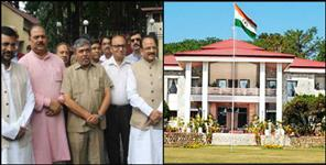 dehradun: bjp leaders meet governor