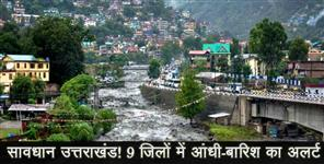 rain and hailstorm forecast uttarakhand