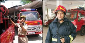 Women fire brigade recruitment in Uttarakhand
