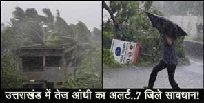 haridwar: weather rain and hailstrom forecast for uttarakhand