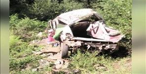 Road accident in chamoli 10 people died
