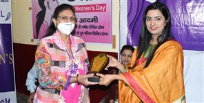 Women are honored on International Womens Day in Uttarkashi