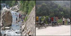 Road accident in Tehri Garhwal, one died