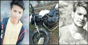 Three youth died and three injured during bike racing in ramnagar