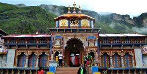dehradun: badrinath dham specially decorated for navratri