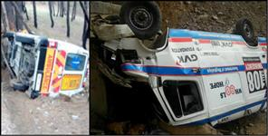 108 ambulance met accident in uttarakhand